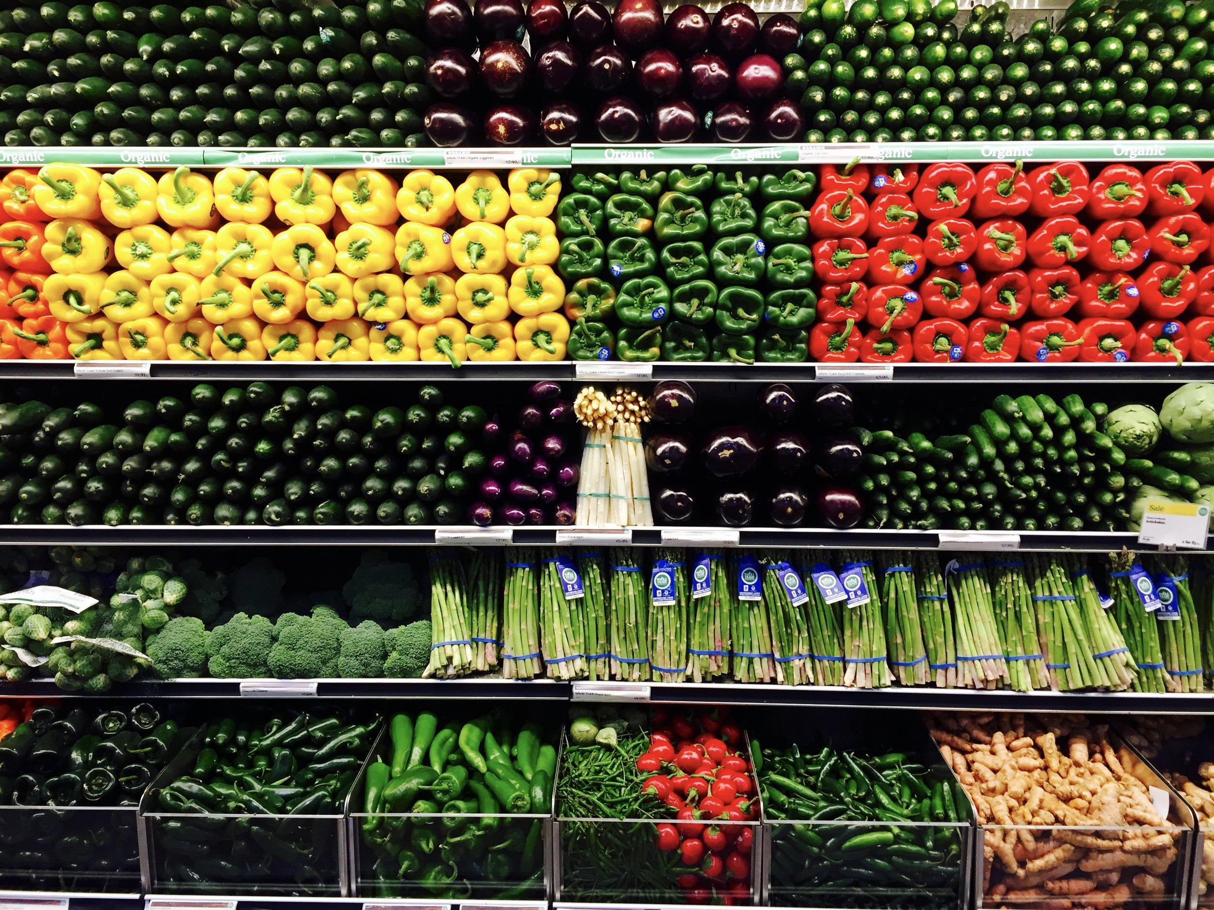 Parduotuvė L.A. Whole Foods market