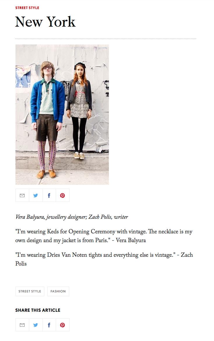 British Vogue -