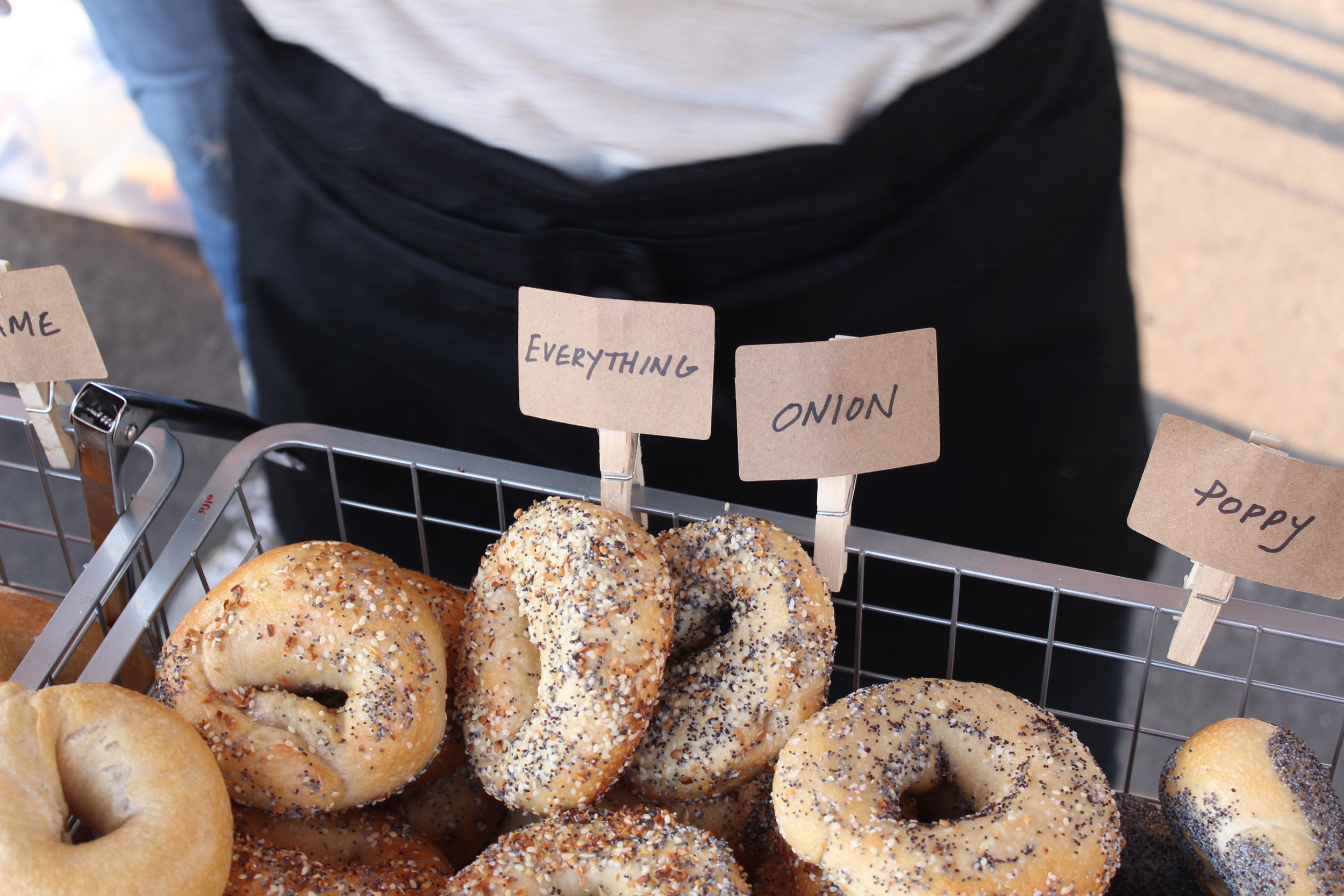 Image provided by Kate Lloyd of Rise Bagel Co.