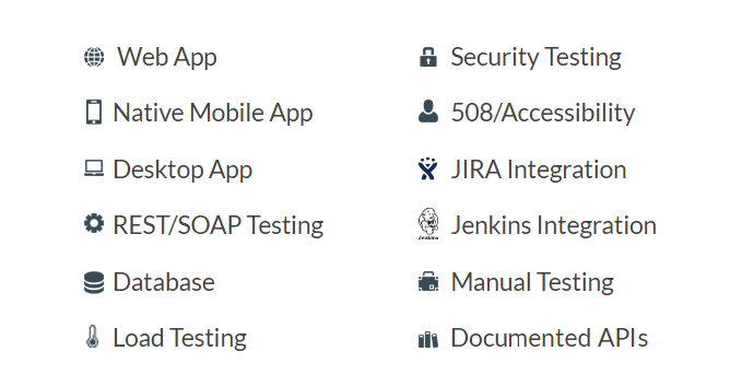 Subject 7 Feature List - Native, REST, SOAP, JIRA, Jenkins