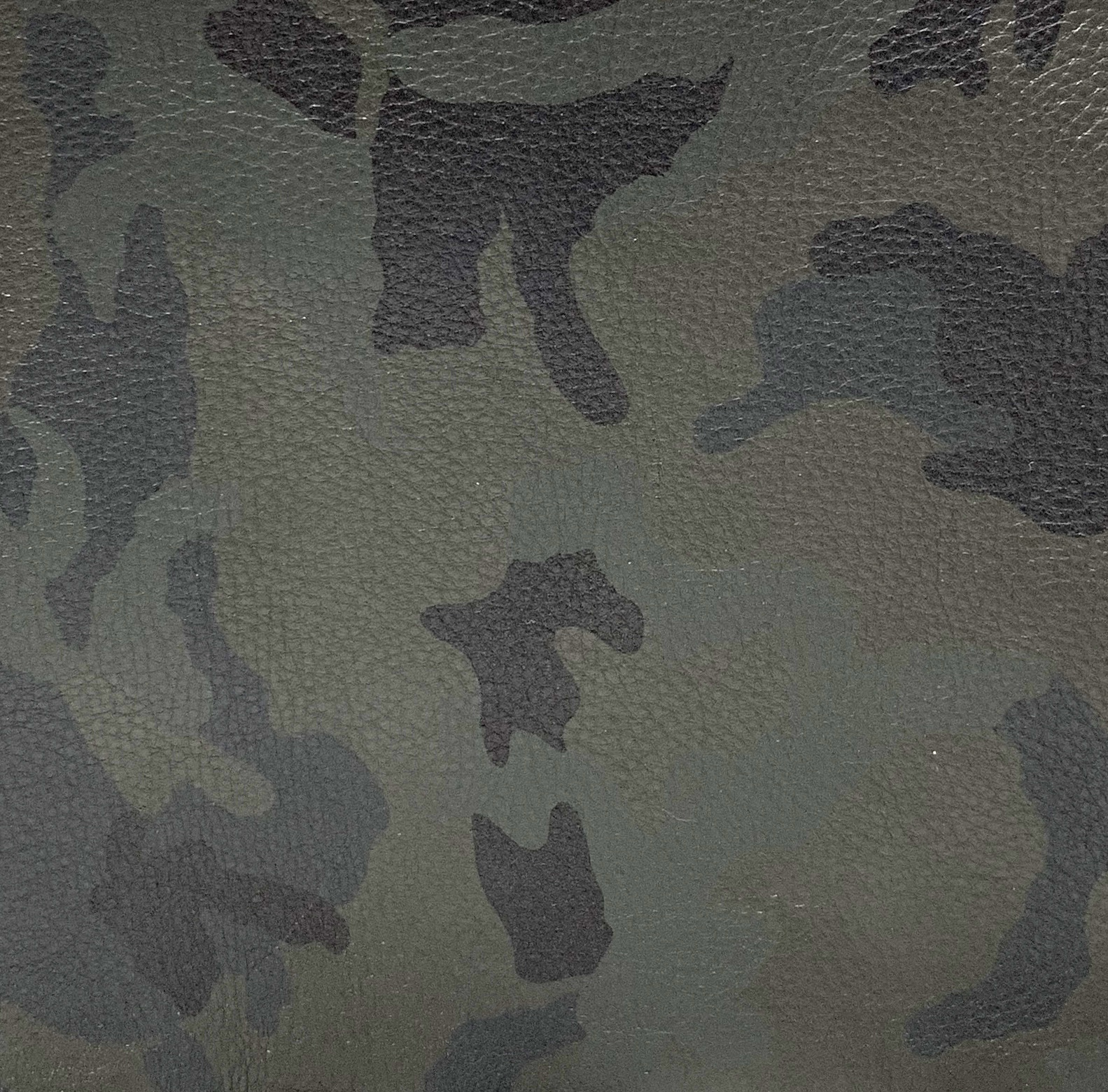CAMO GREEN SOFT LEATHER