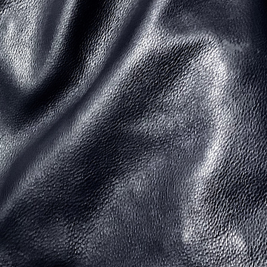 NAVY SOFT PEBBLE LEATHER