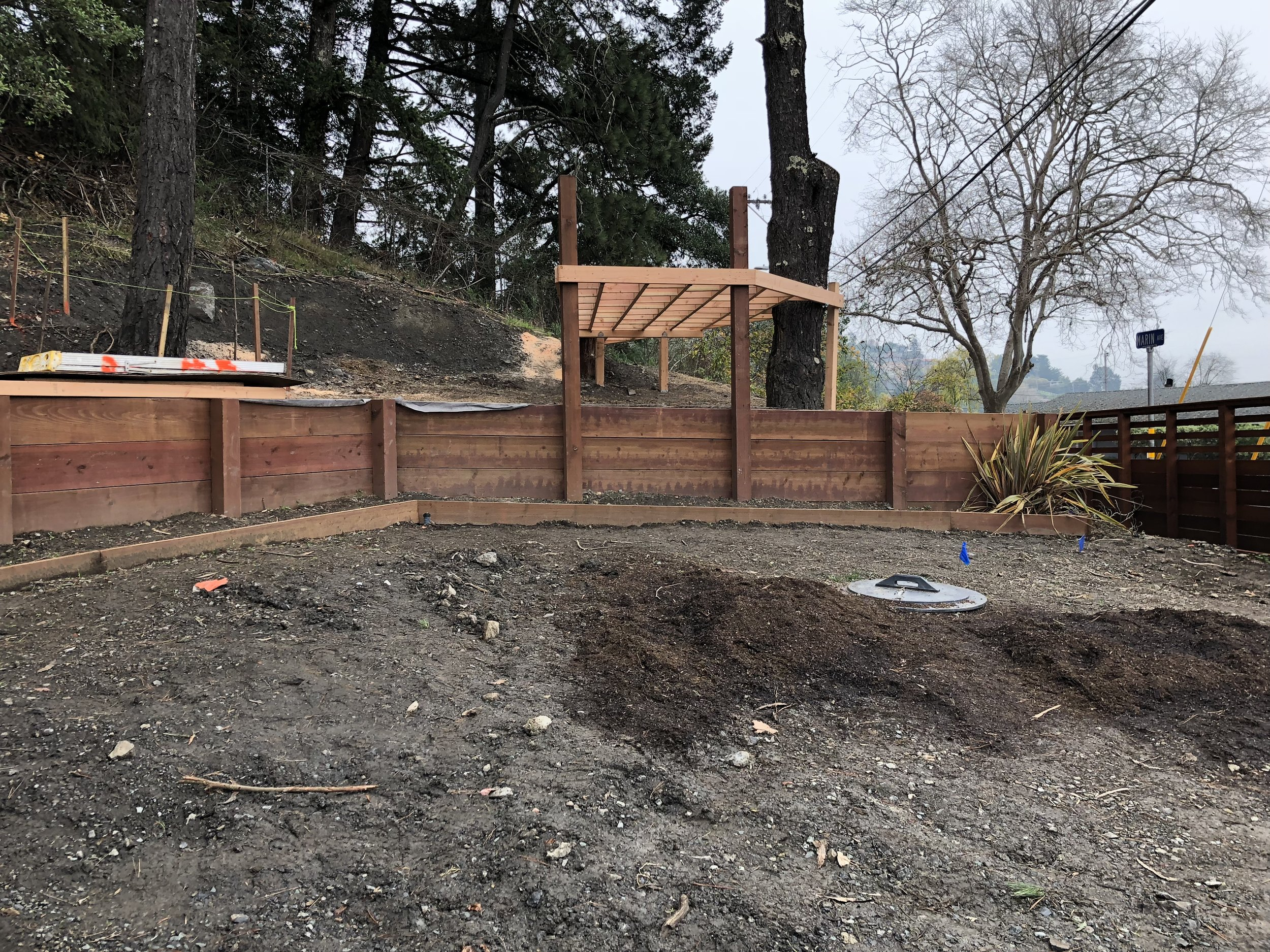 Treehouse in Marin, Mill Valley, Francisco's Gardening and Maintenance - 4 right deck blocks.jpeg