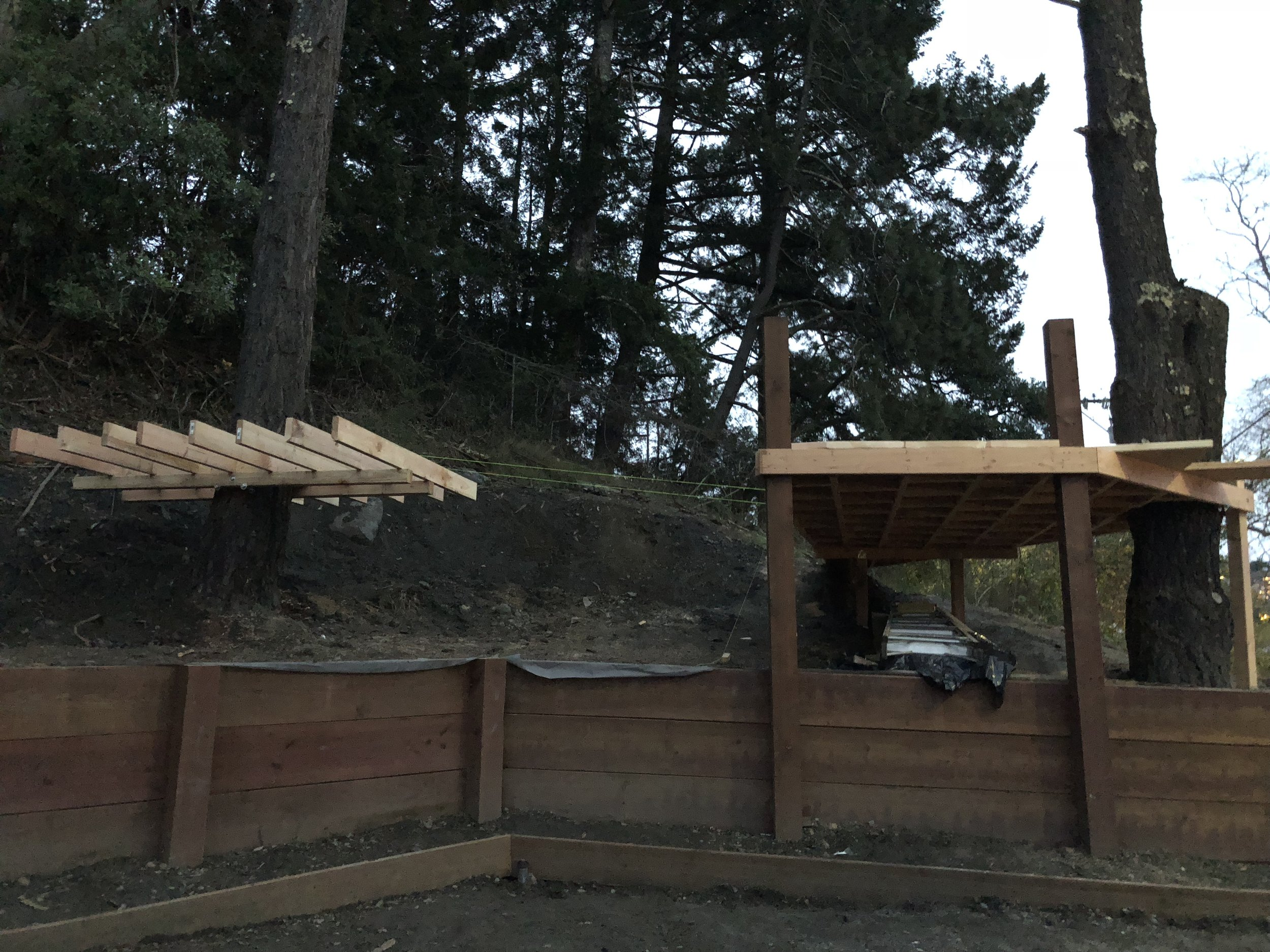 Treehouse in Marin, Mill Valley, Francisco's Gardening and Maintenance - 5 dual decks.jpeg