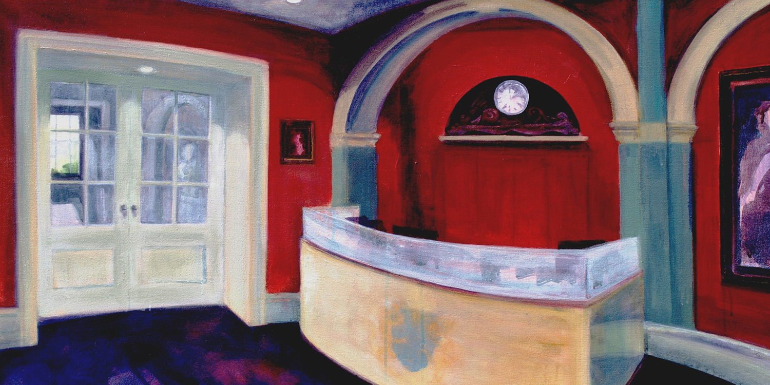 City of London: The new Reception at Drapers' Hall  Artist: Wendy Brooke-Smith
