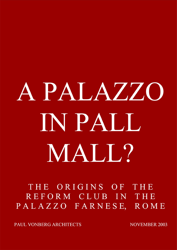 A Palazzo in Pall Mall