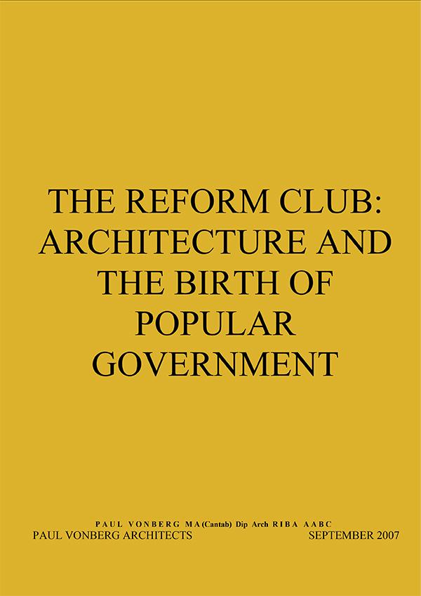 The Reform Club
