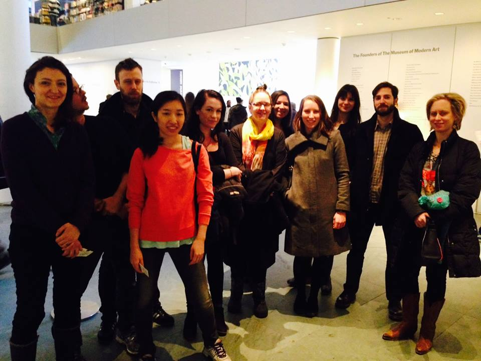 Art & Law Program, 2015, visited MoMA today to view the Sturtevant exhibition...then we had delicious Cuban food over at Tina's on 56th Street. Great day; great outing; awesome fellows.