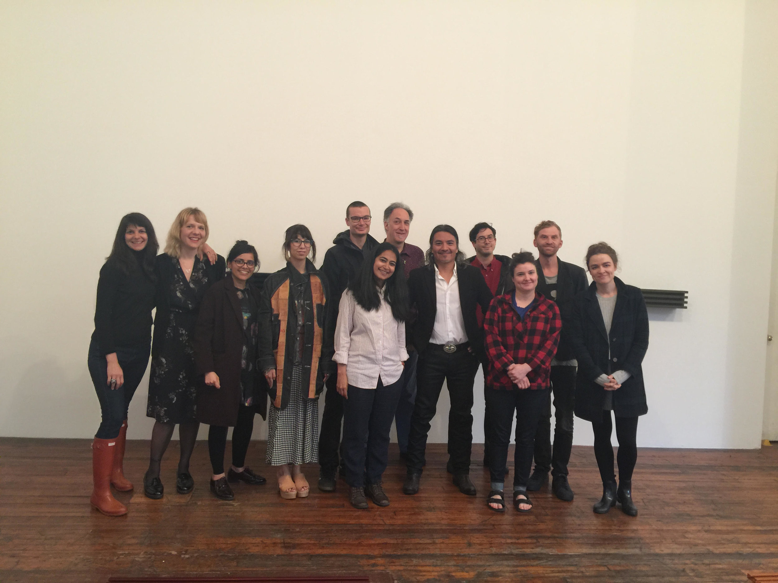 The spring 2018 fellows and alumni took a tour of the Judd Foundation at 101 Spring Street in NYC. We had a great tour guide, and some of us went out for tea, pie and some red wine. Looking forward to our fall 2018 visit.