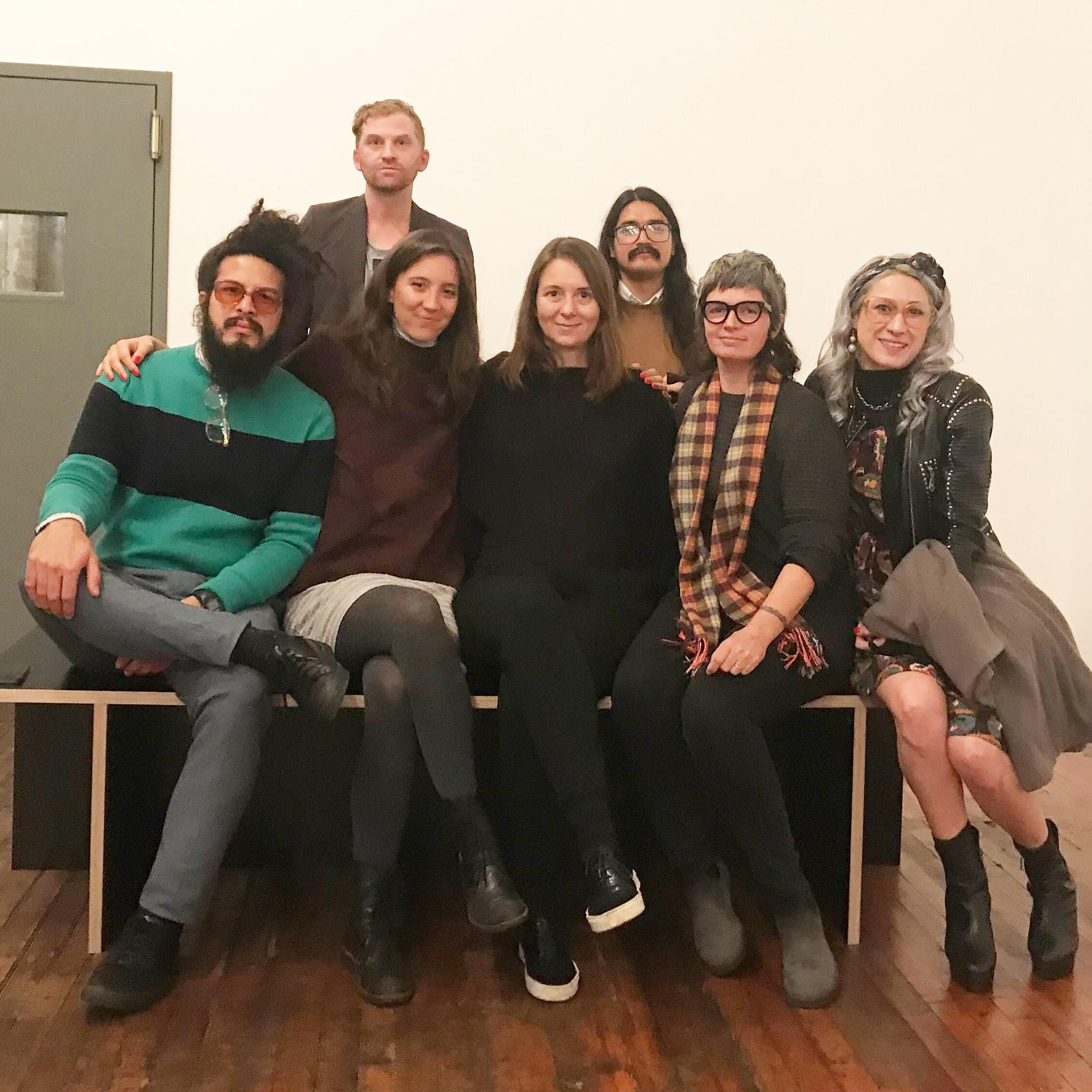 2019 Fall Fellows after a tour of Donald Judd's home on Spring St., NYC. A huge thanks to our repeat offender, Chris Rawson, for always arranging for these tours. (Pictured from left to right: Armando Rosales Rivero, Chris Rawson, Ivana Dizdar, Elizabeth Smolarz, Carlos Jiménez Cahua, Mira Friedlaender, Claudia Fernandez.)