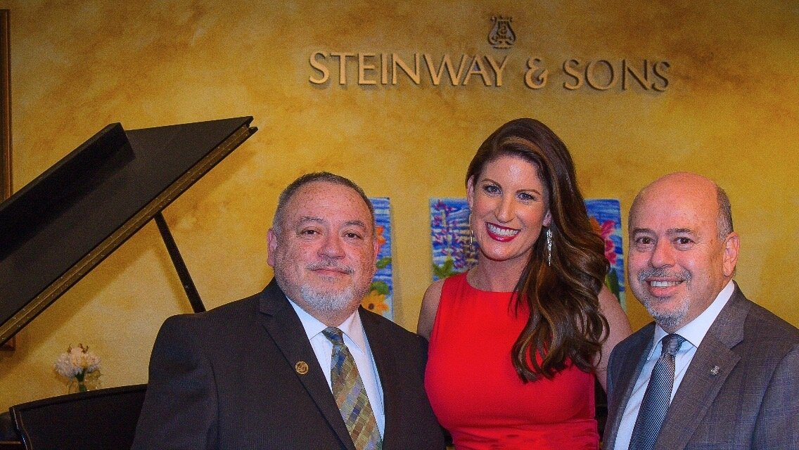 Gina Lenee is partnering with my local piano store, Steinway Gallery of Fresno to create a scholarship fund for students. The owner, Heyner Oviedo and his brother, Hans are making this possible because they believe in the power of music.
