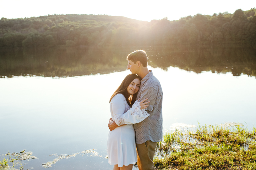 Frances Slocum State Park Engagement Session - Wyoming, PA | Emily + Chris