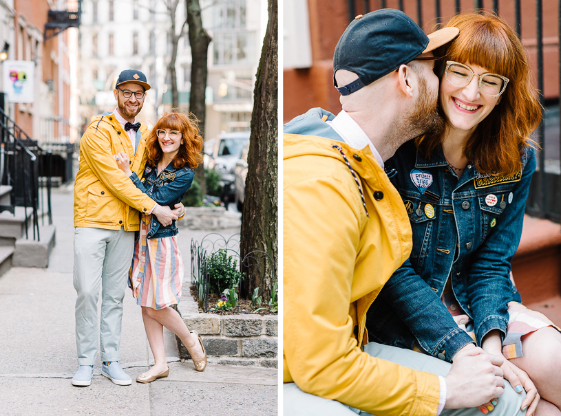 Color Factory New York City Engagement