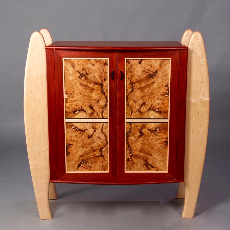 Burl Cabinet