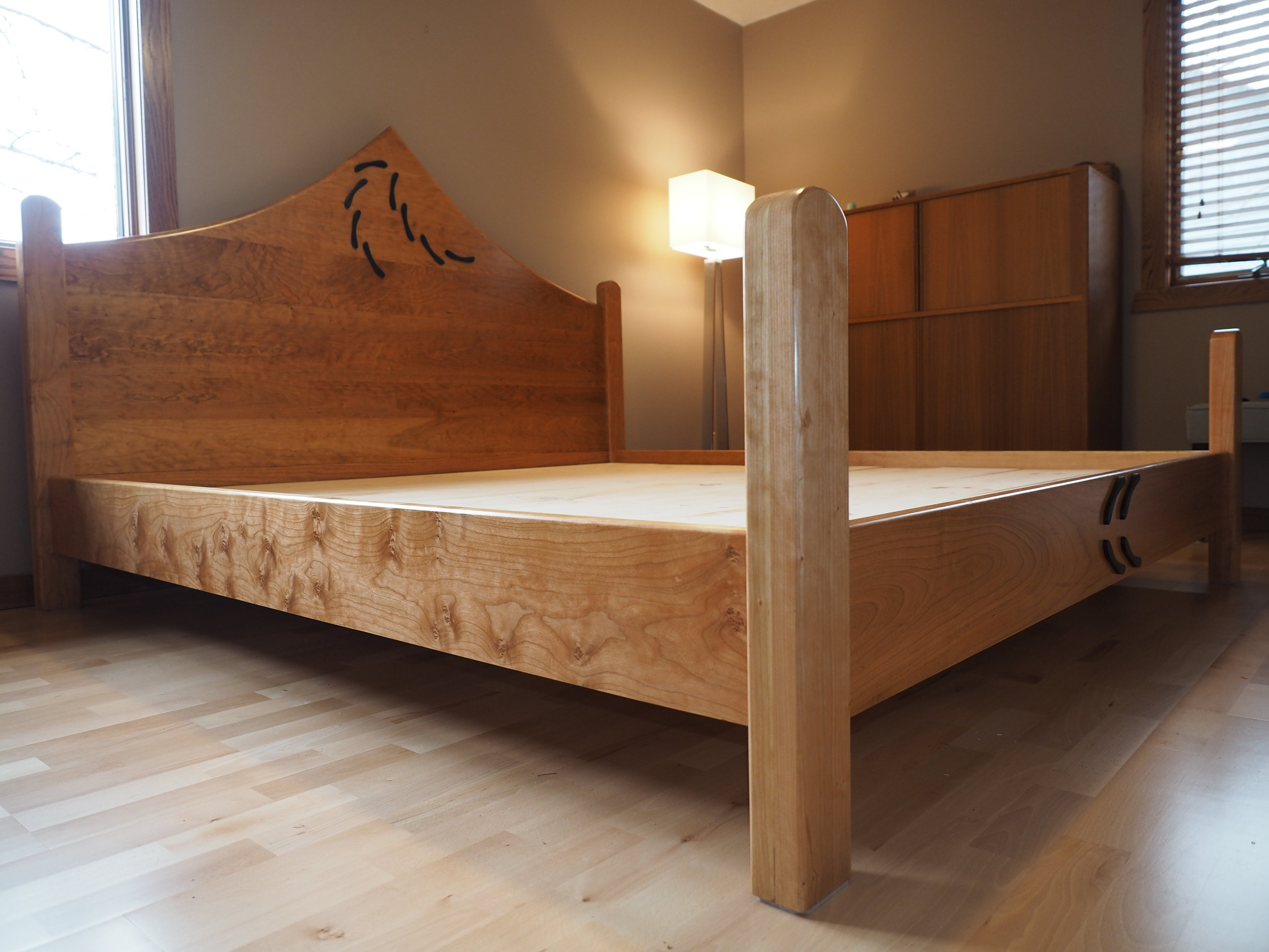 Cherry King Bed