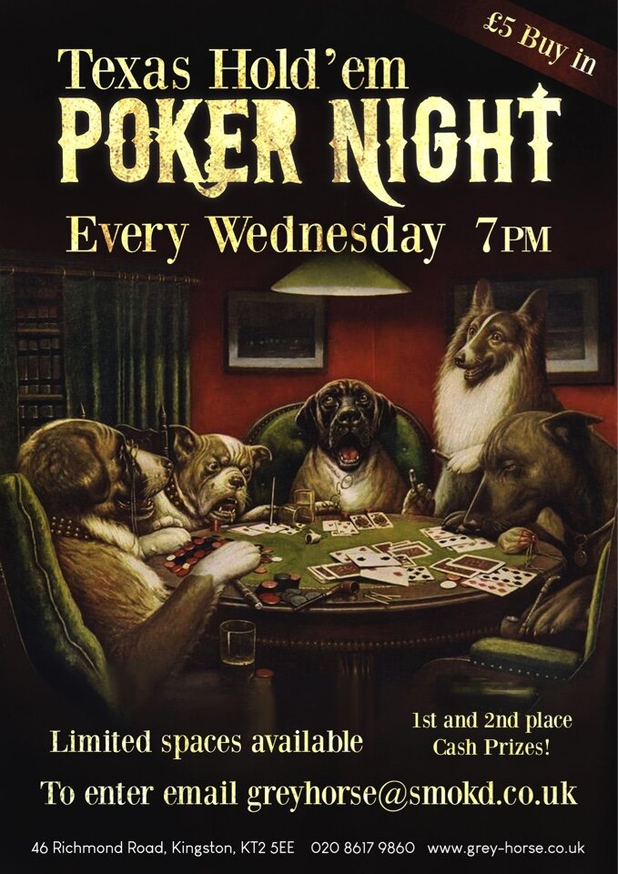 Every Wednesday night in the main bar.