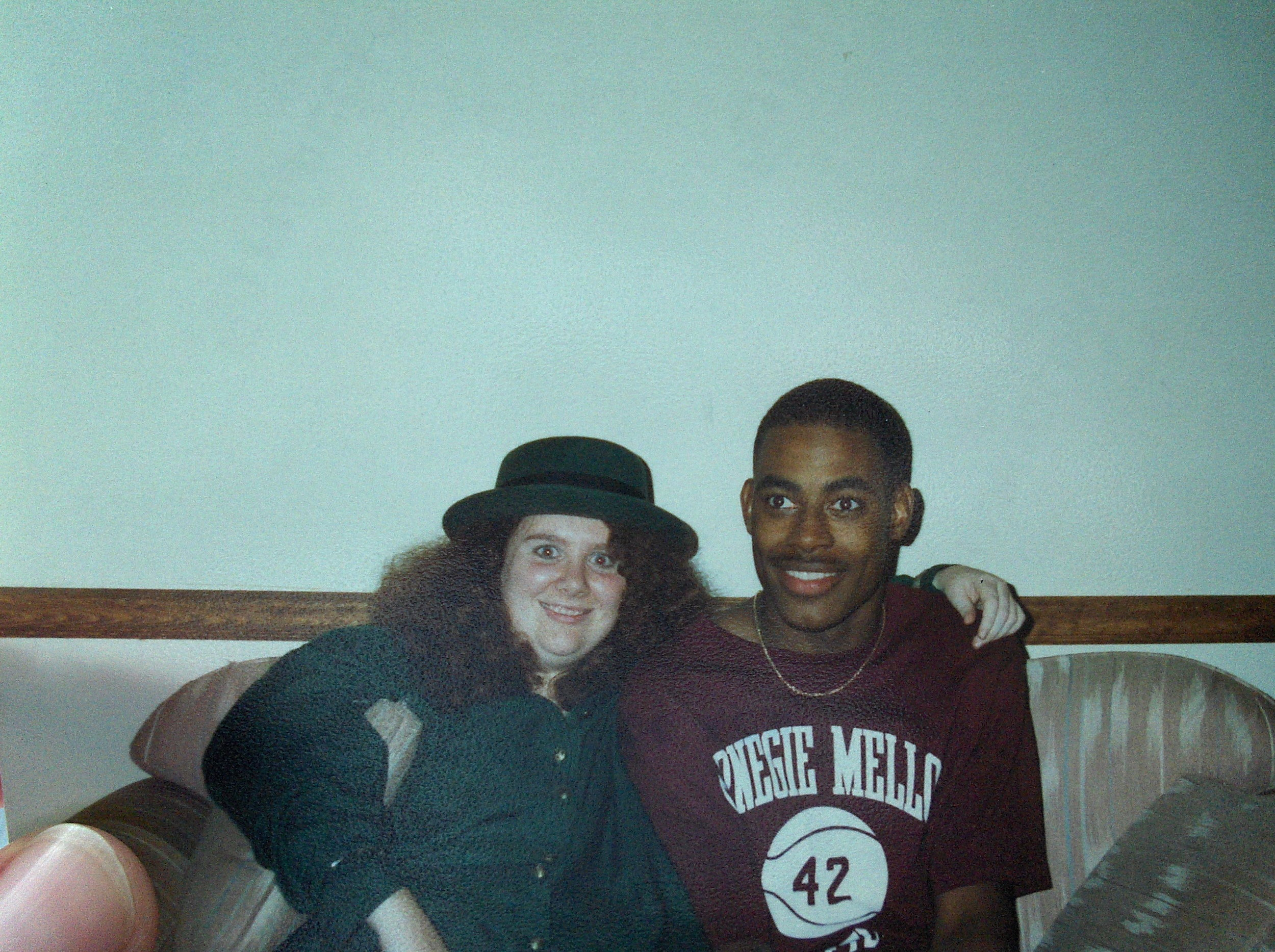 Deb and Lamman ~25 years ago while undergraduates at CMU