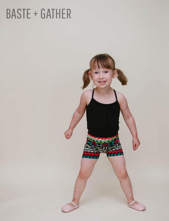 Summer Shorties   Free Sewing Pattern by Selvage Designs for BASTE + GATHER