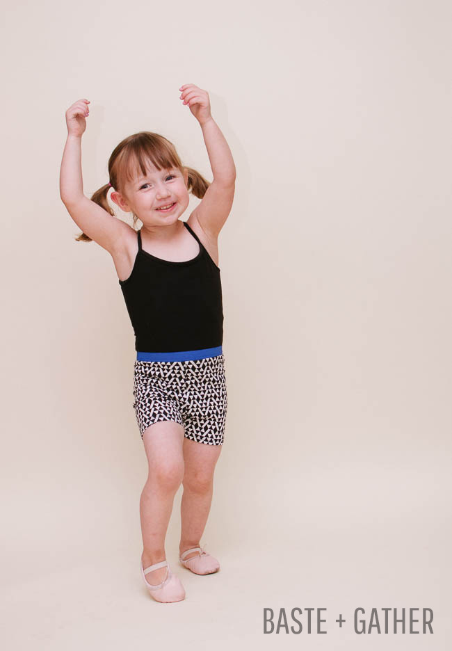Summer Shorties - Selvage Designs for Baste + Gather