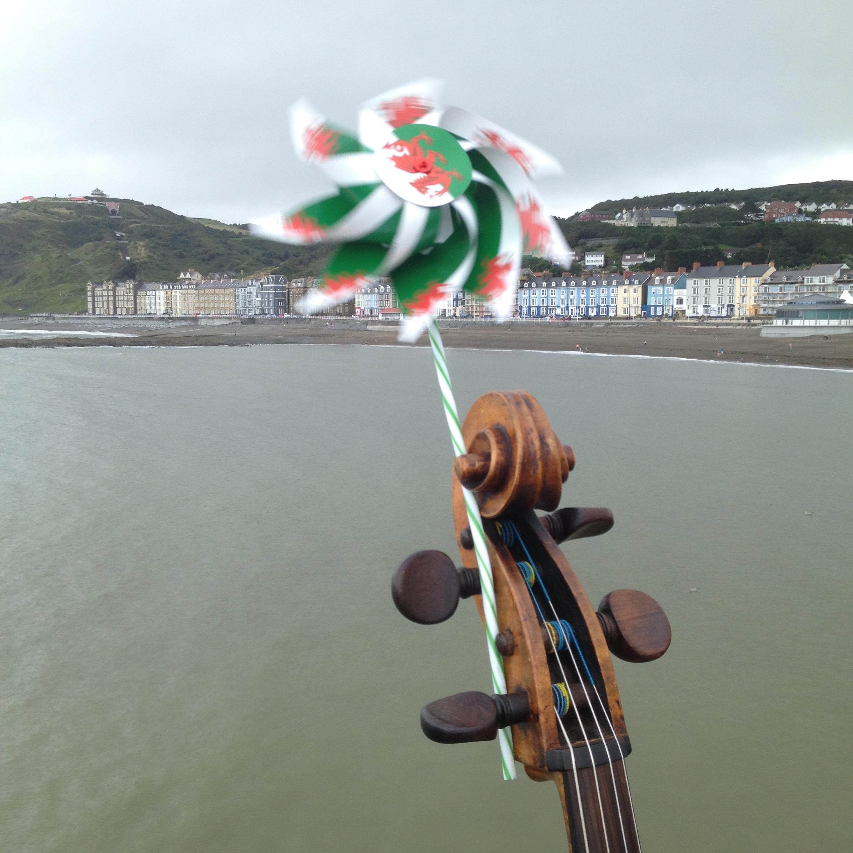 End of Aberystwyth Pier