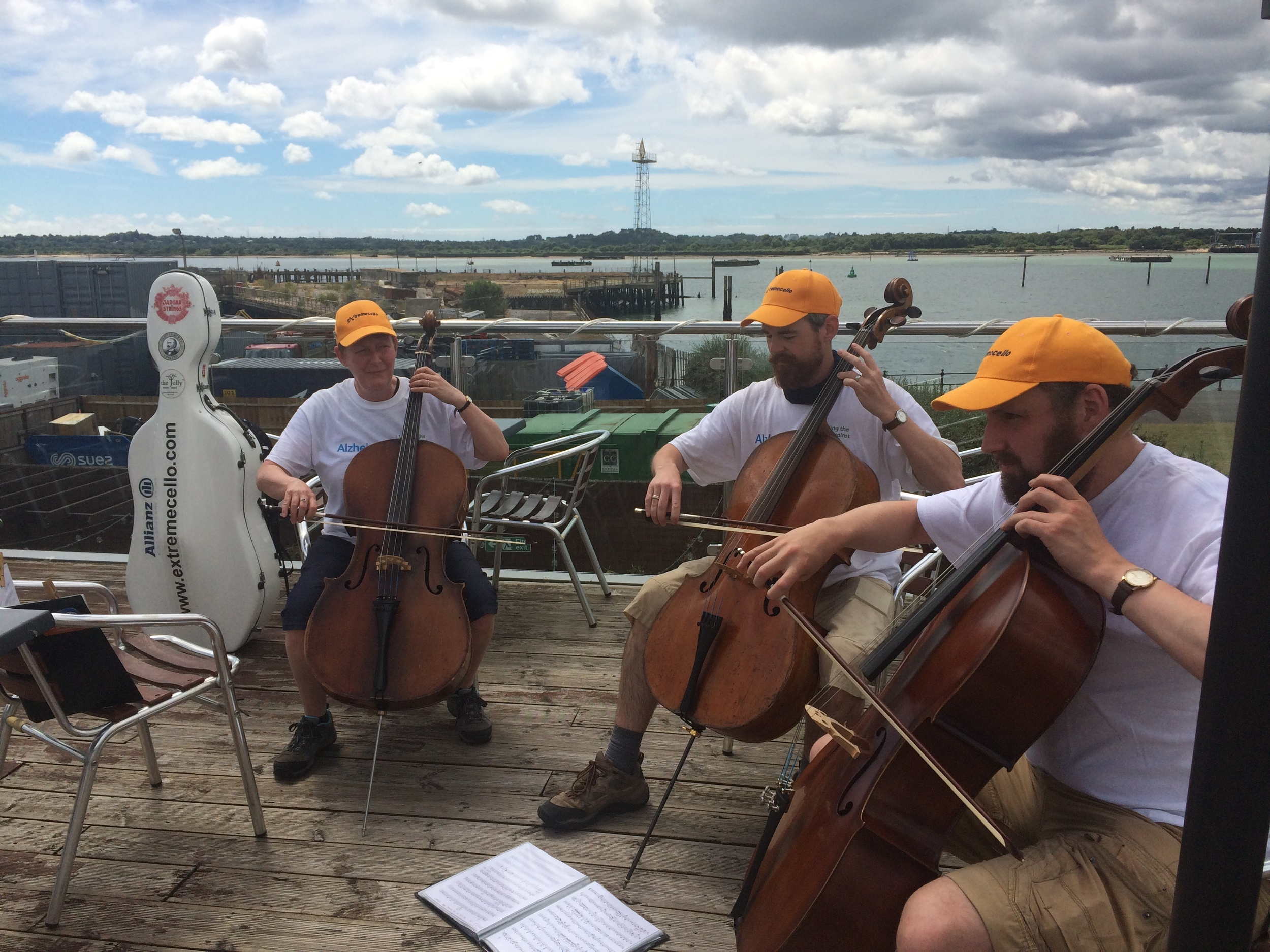 Playing at the Gatehouse Grill, Southampton Pier