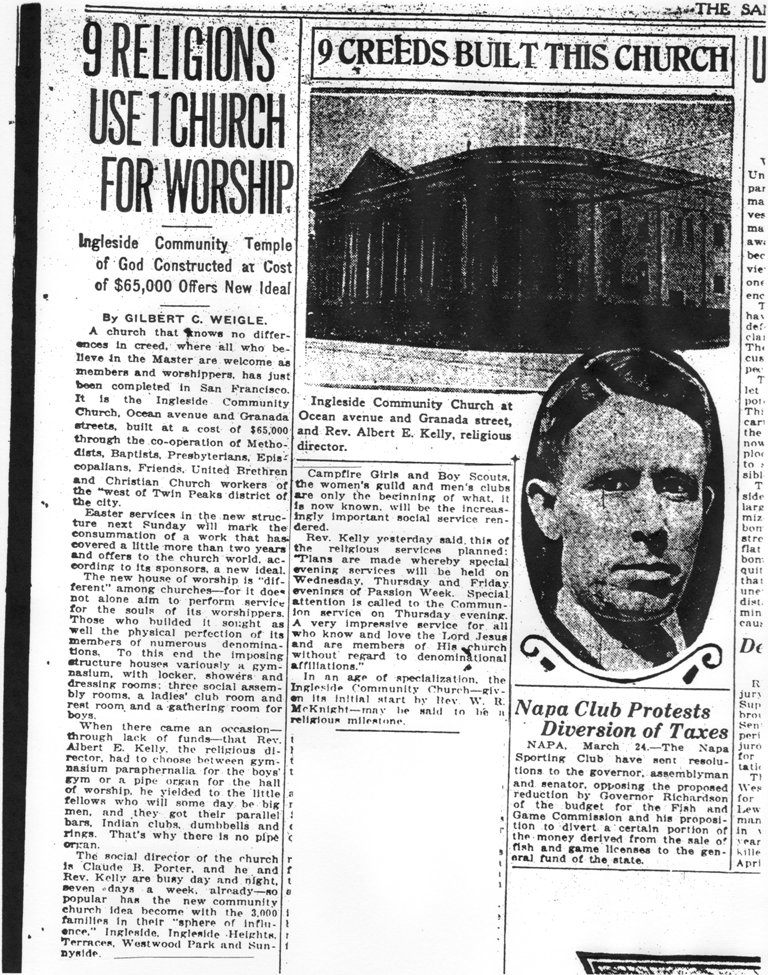 SF Examiner Article - 1923