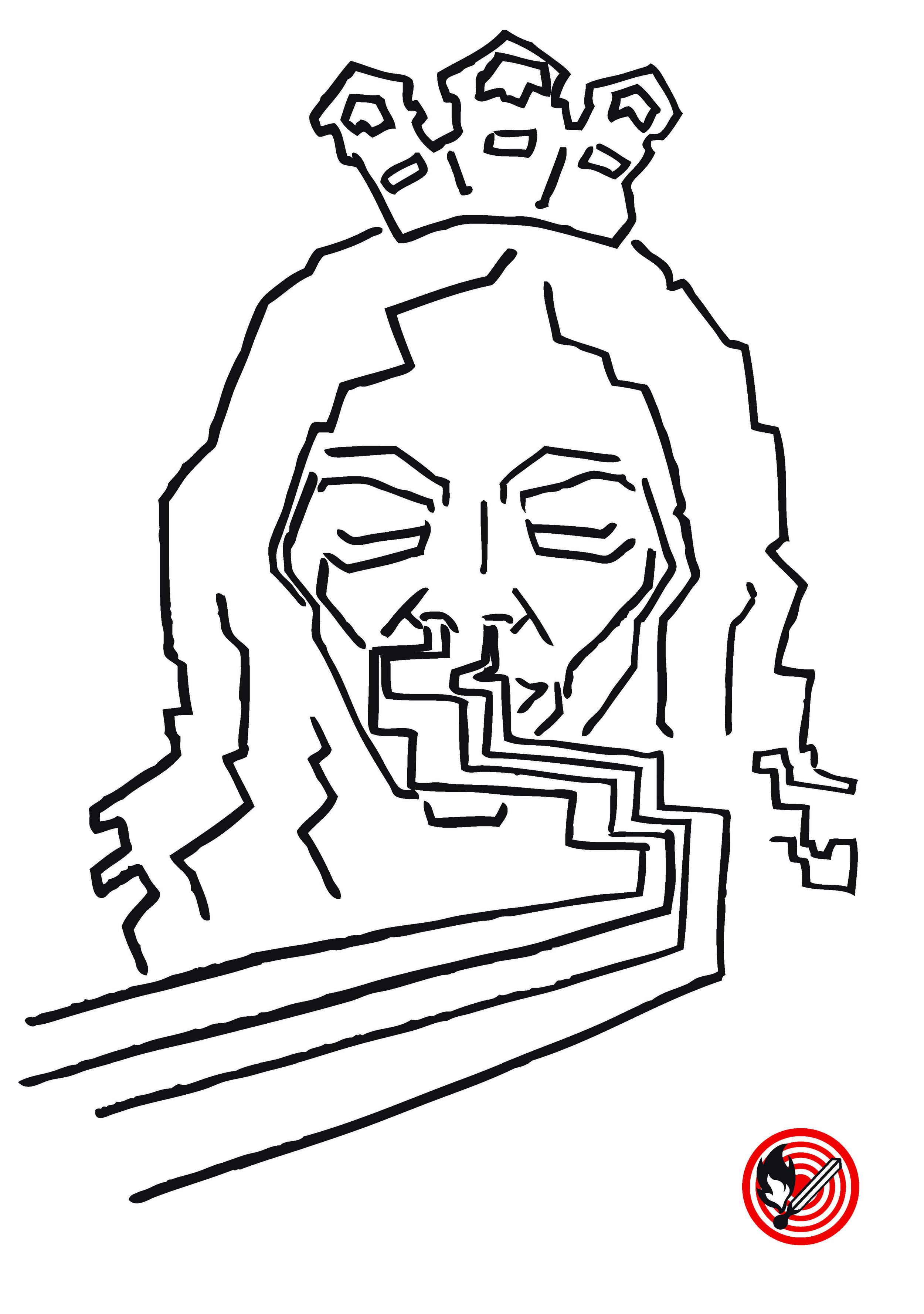 D Kate Moss, die Drooge-Queen, nimmt schyyns vom Fyynschtaub vyyl und d Nase voll,   Wäg däm Skandal um Kokain isch s Image mies und nümm so toll.   Uff dr Suechi nach me Job isch si in Basel jetzt uffgrützt,   Und hett begeischderet am Sunntig do dr Schnee wäggschnützt.