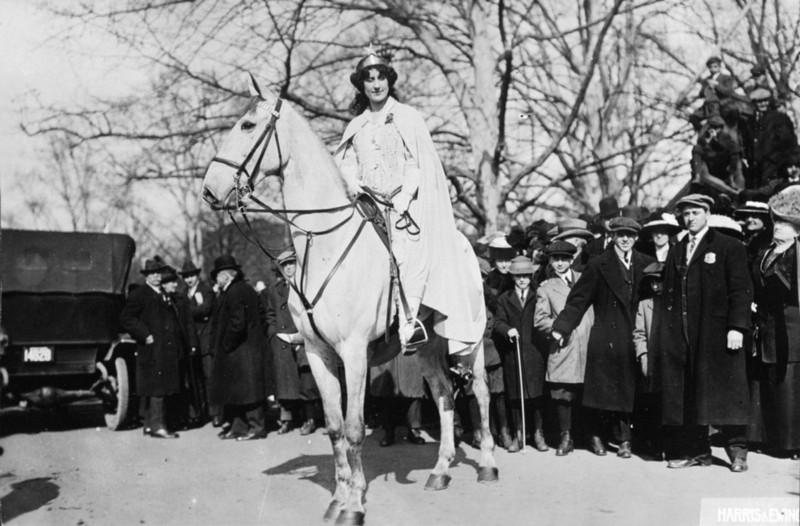 Inez Milholland, Library of Congress Image