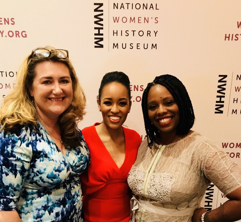 Me, Actress Dawn Lyne-Gardner and Activist Patrisse Cullors