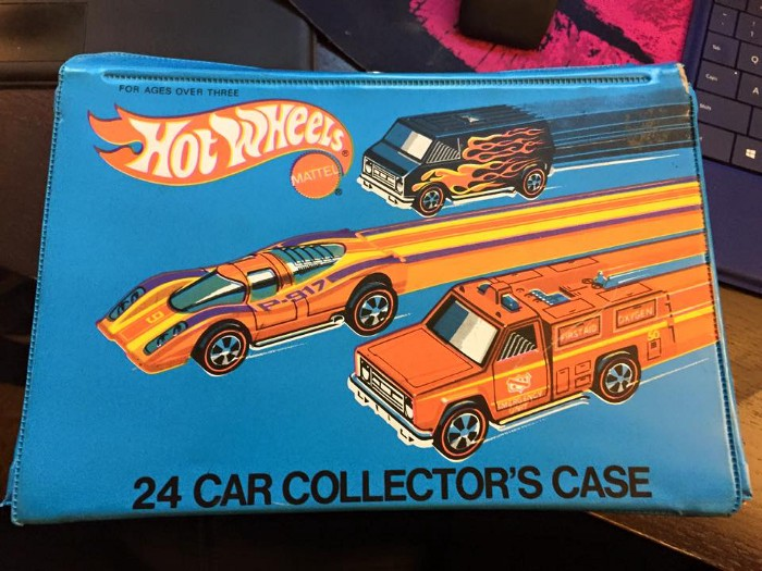My childhood Car Collector's Case