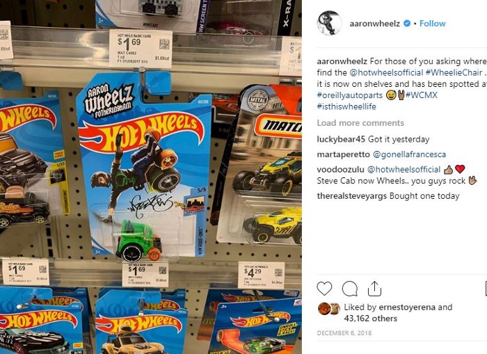 Photo Credit: Aaronwheelz Instagram account