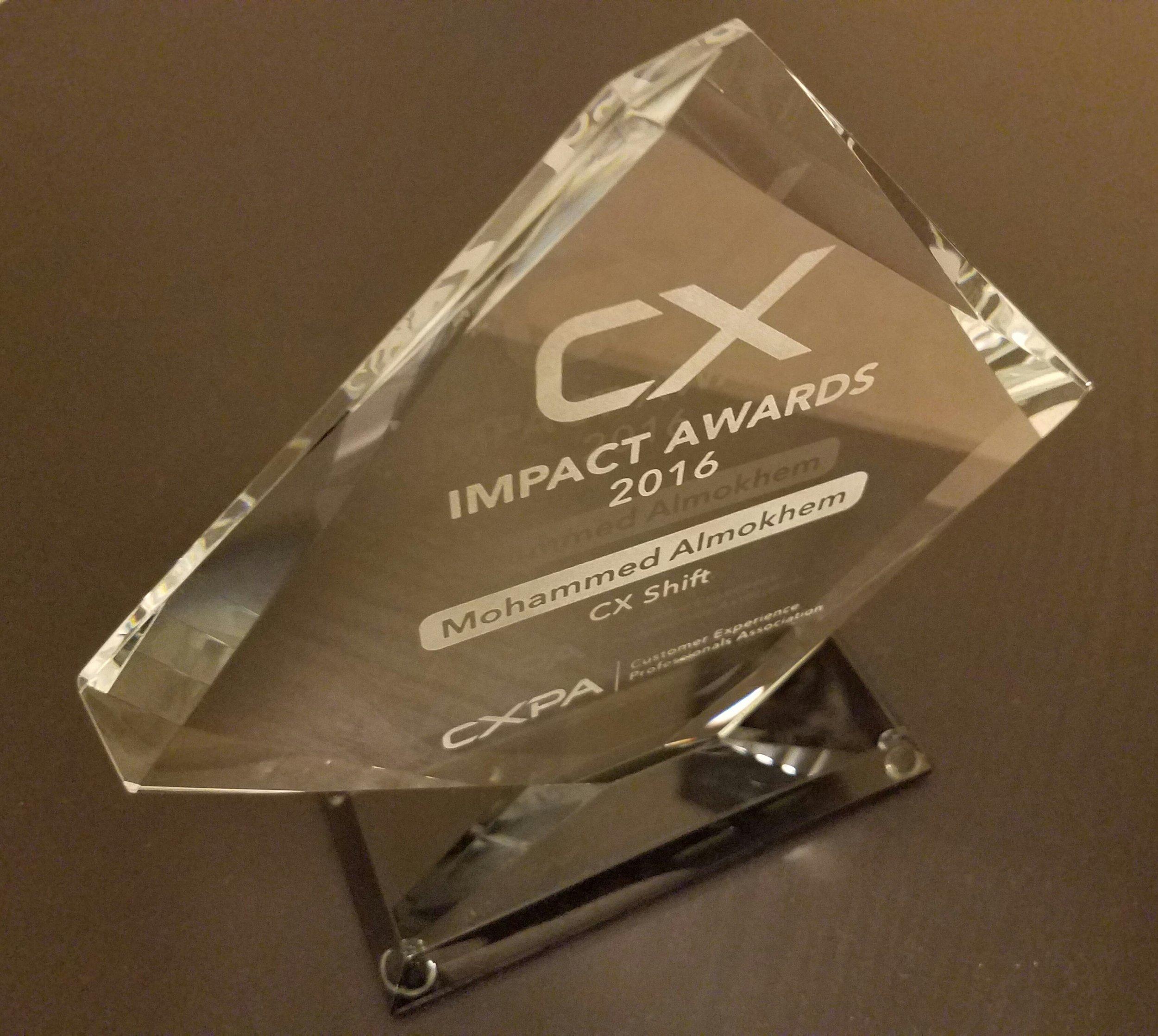 2016 CX Impact Award, Outstanding Providers - Mohammed Almokhem.jpg