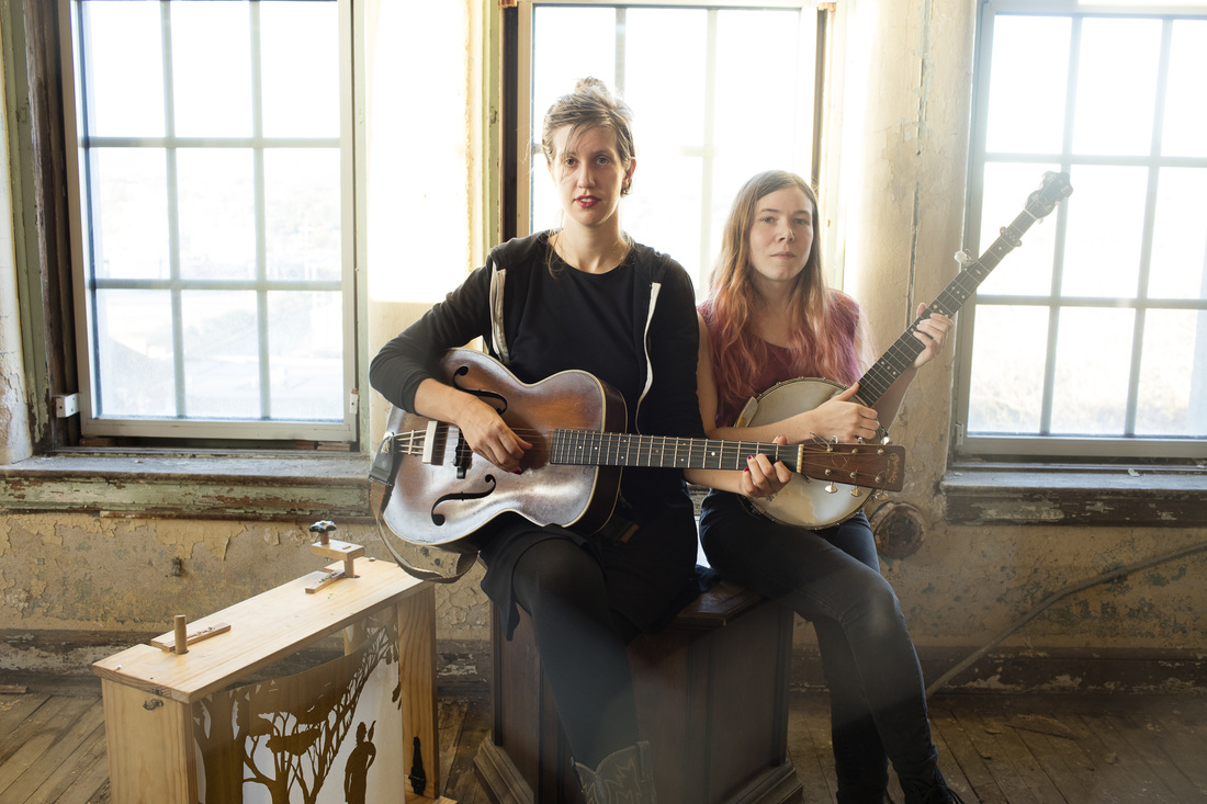ANNA & ELIZABETH   Harmony Singing | Visual Art | Banjo | Fiddle | Ballads of New England