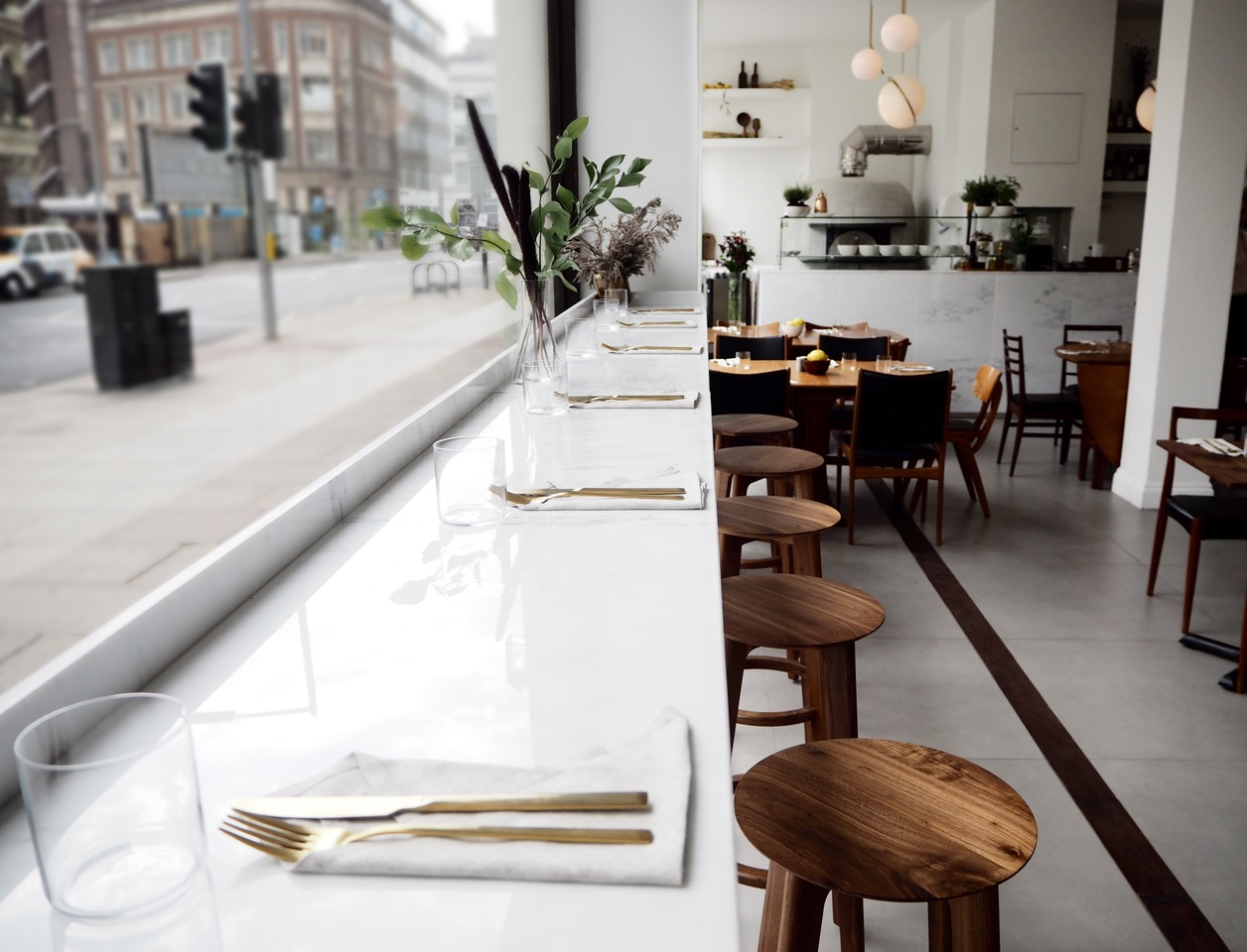 'Over Restaurant, London by Quiet Studios.