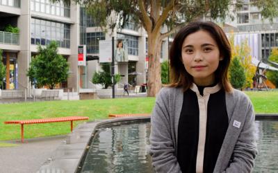 ECOSOC delegate and Swinburne student Chau Nguyen