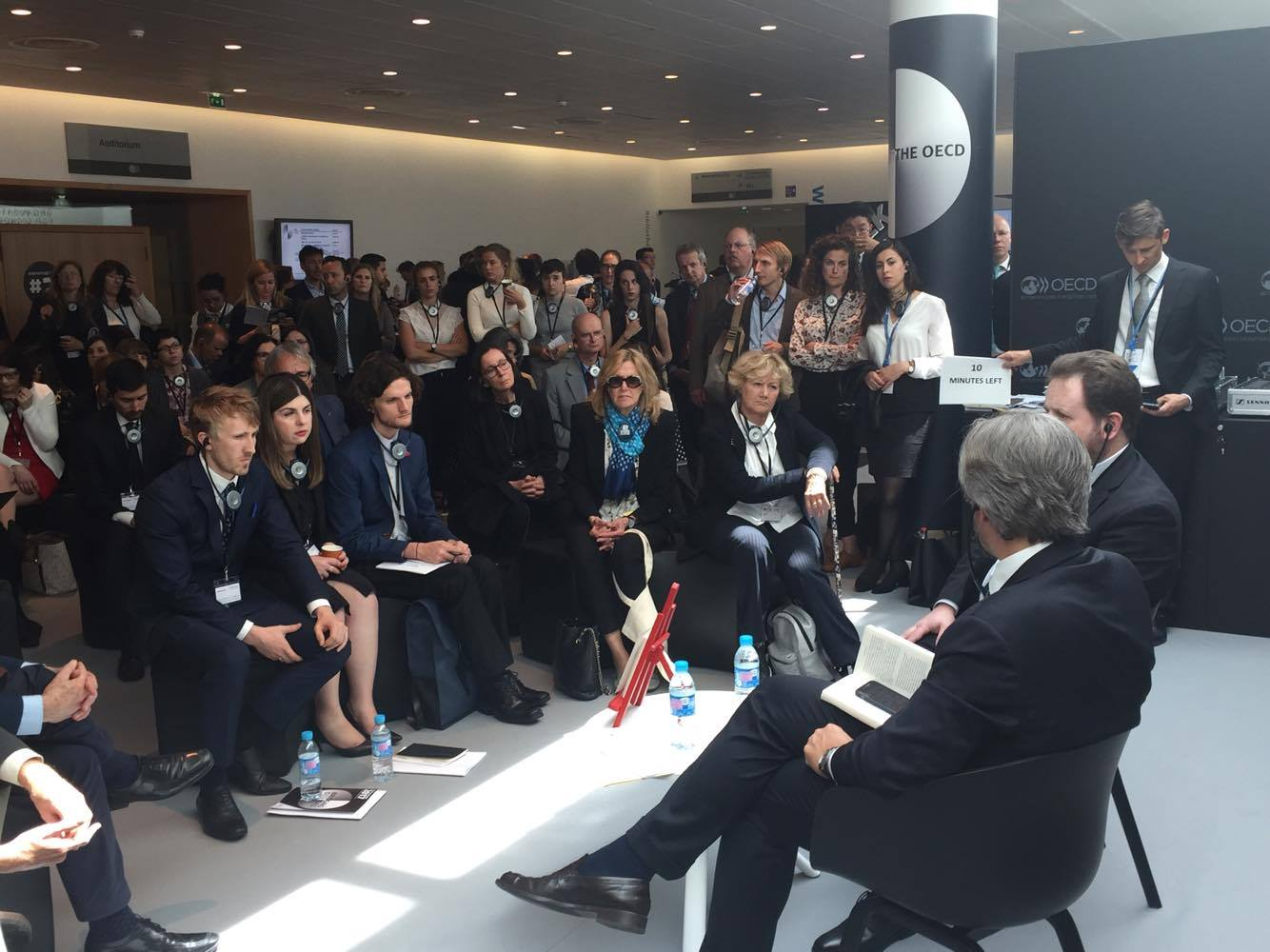 GV DELEGATES TAKE FRONT AN CENTRE AT PANEL DISCUSSIONS