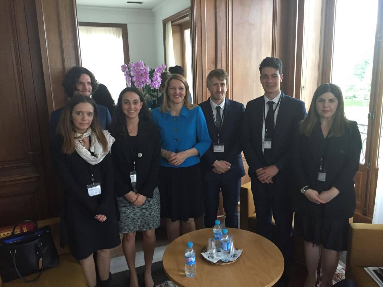 MEETING WITH MARI KIVINIEMI, DEPUTY SECRETARY-GENERAL OF THE OECD