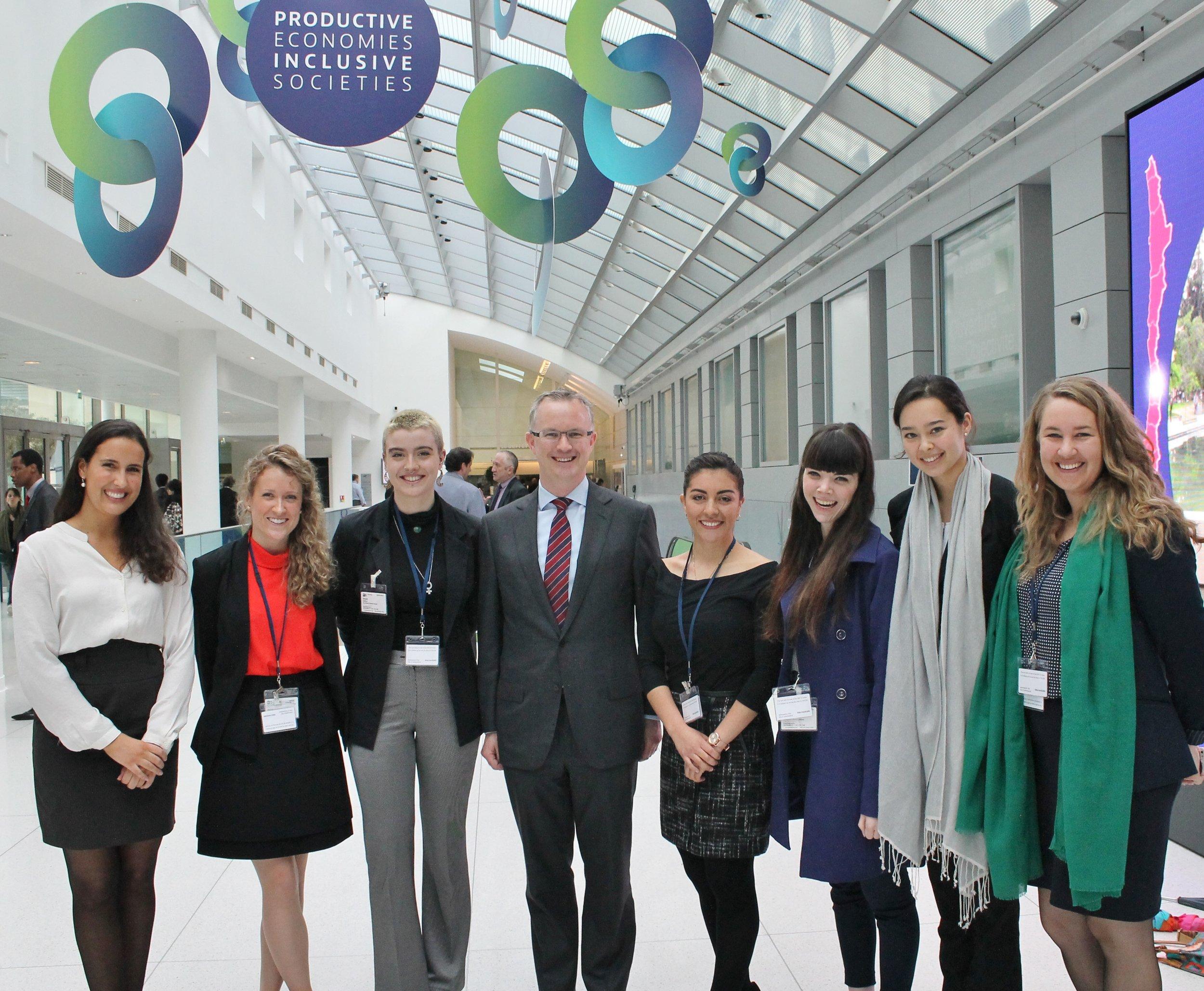 Ambassador Pontifex with Global Voices delegates copy.jpg