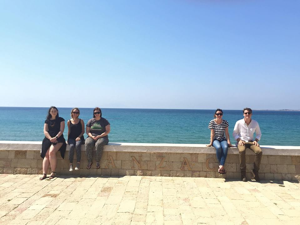 Global Voices Y20 Delegates at Anzac Cove in Turkey copy.jpg