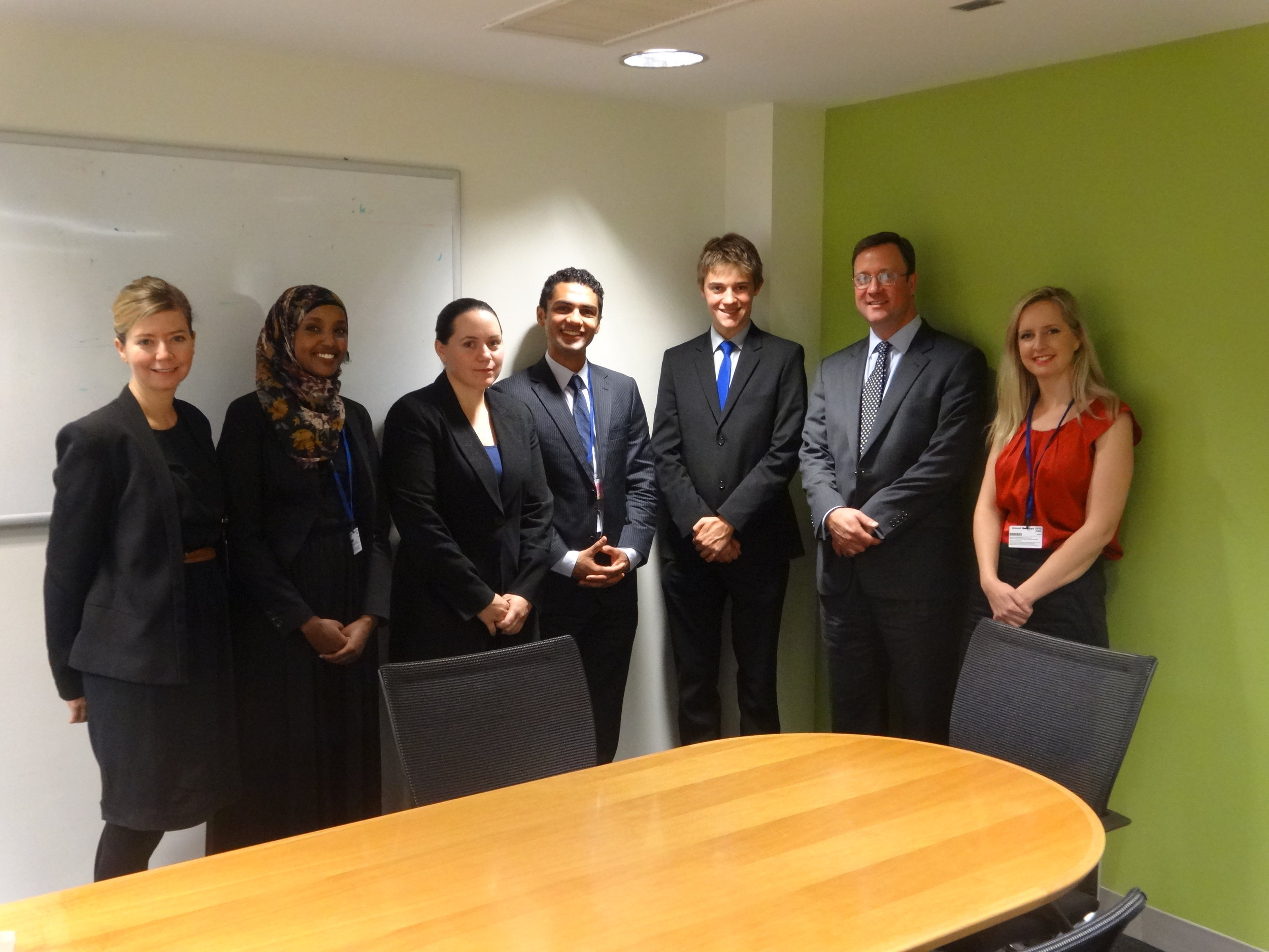 Global Voices WB & IMF Delegates with World Bank Special Representative Craig Albright copy.JPG