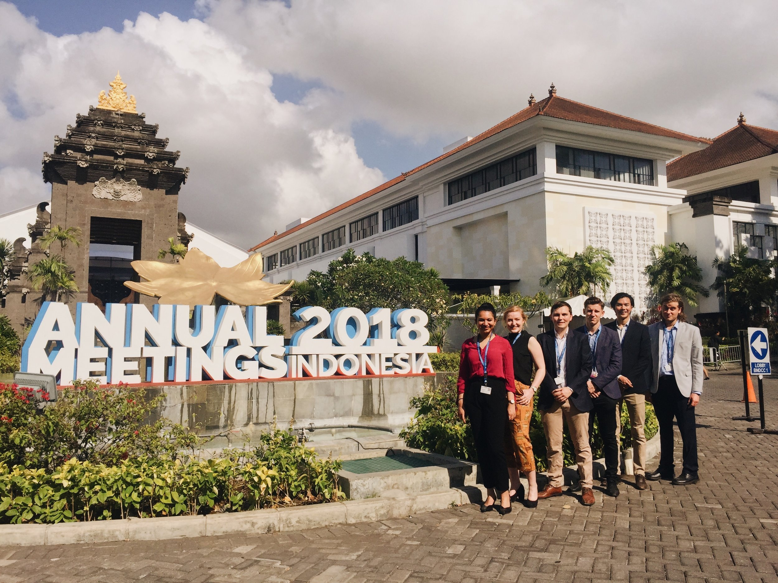 Our 2018 delegation, Bali, indonesia