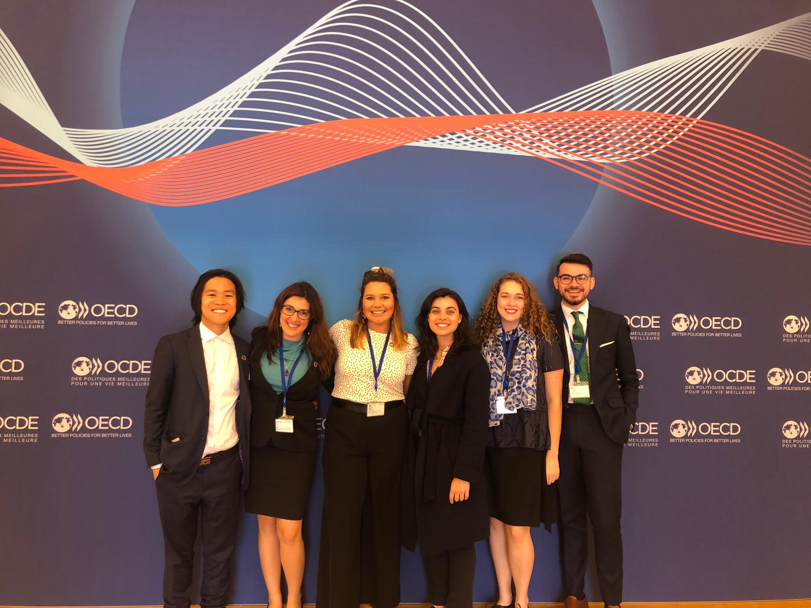 Global Voices Scholars at the 2019 oecd forum
