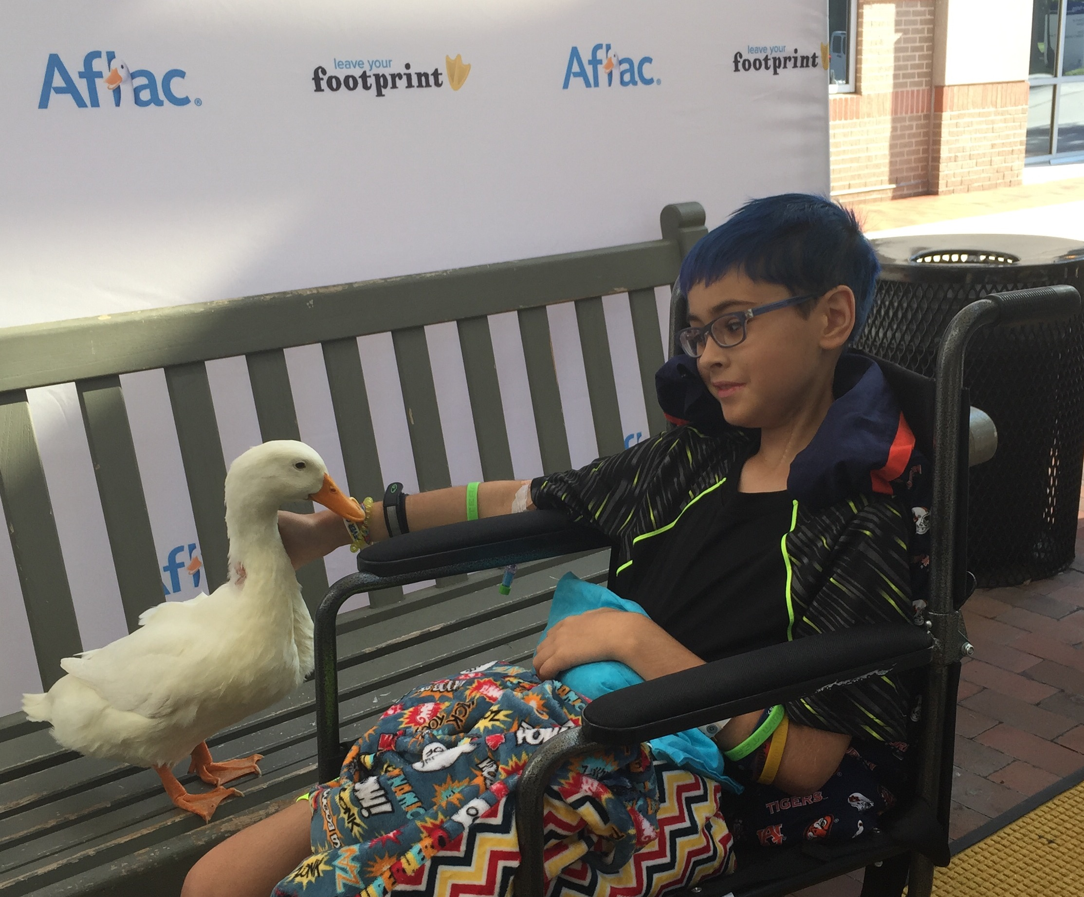 2015 E with Aflac duck.jpeg