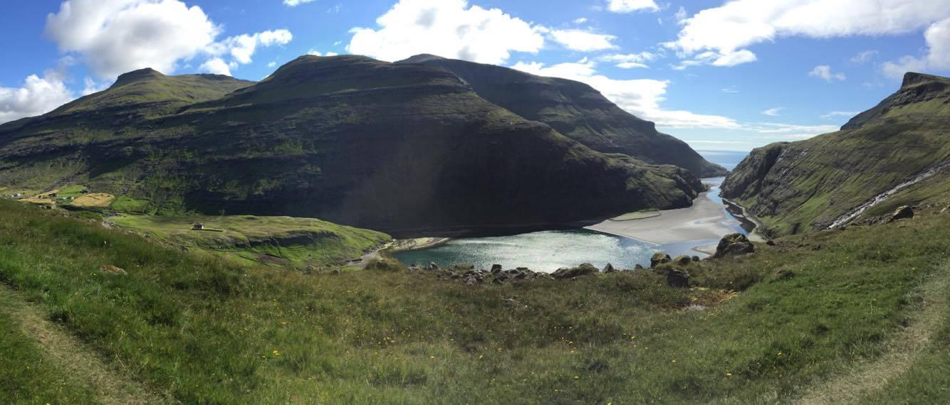 Devon took this photo near our workshop in the Faroe Islands