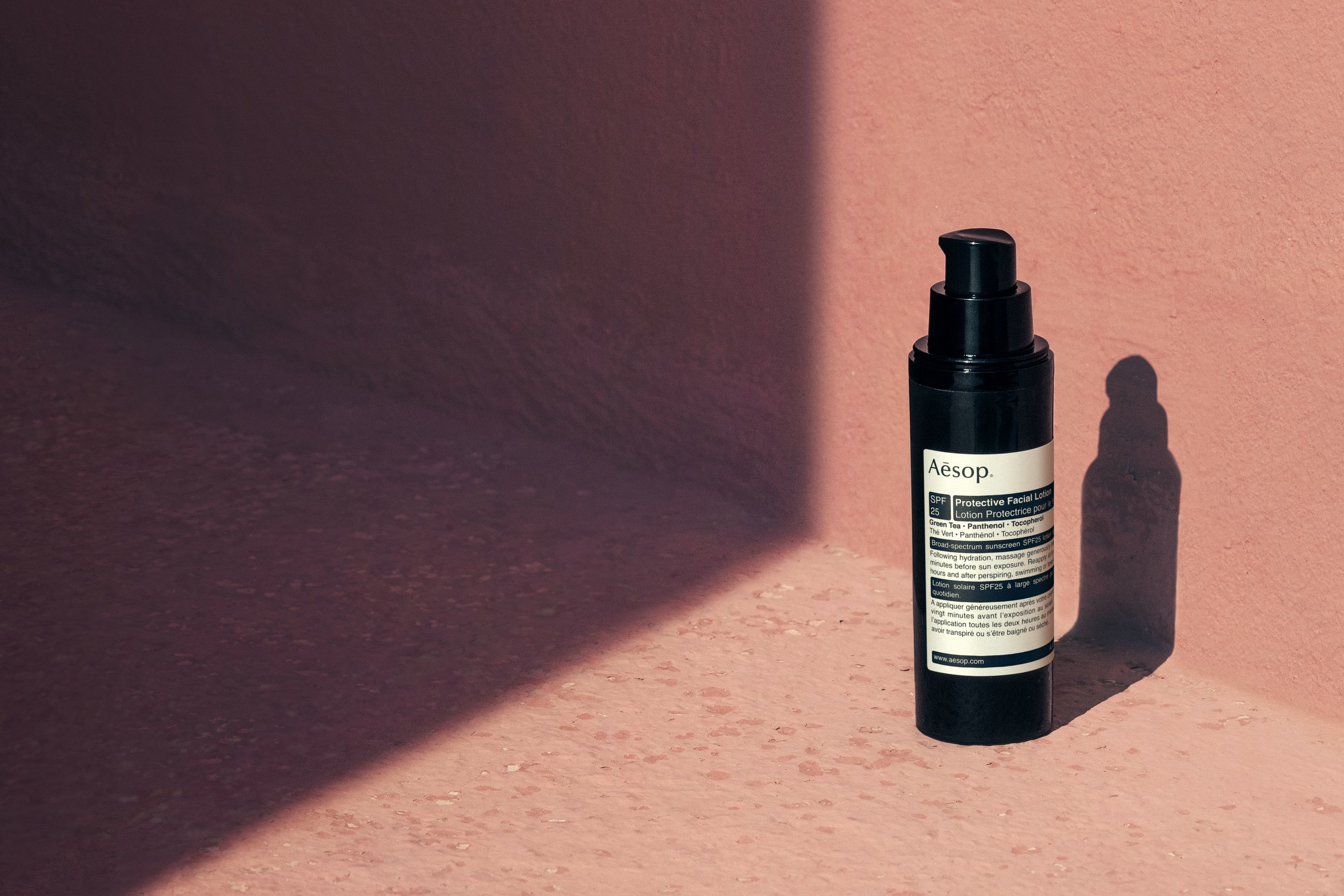 aesop protective facial lotion review