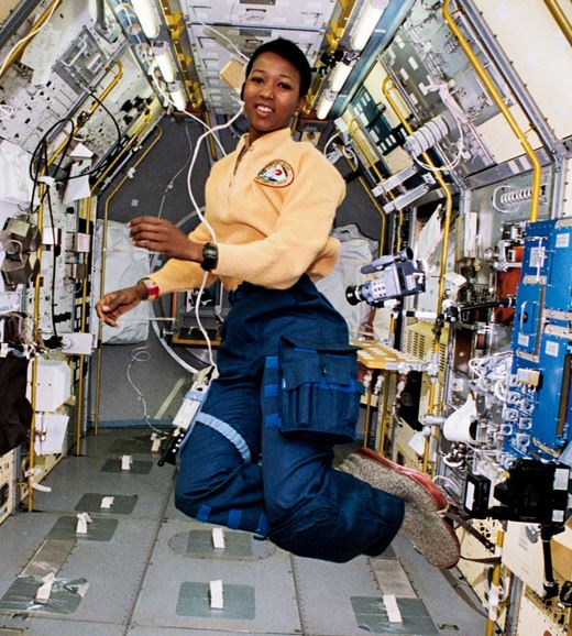 MAE JEMISON, M.D. - The first African-American woman to travel in space, and the distinguished holder of nine honorary doctorates in science, engineering and the humanities.