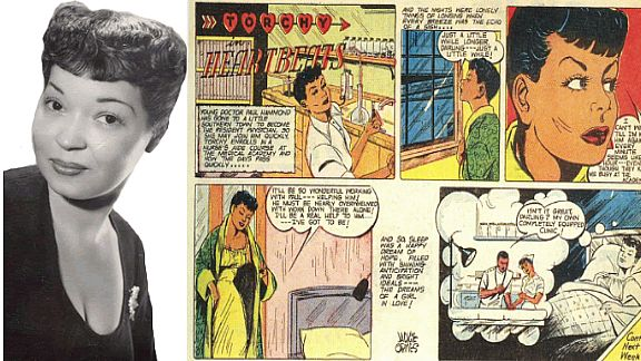 JACKIE ORMES (1911-1985) - The first African-American female cartoonist, whose renowned comic strip  Torchy Brown  showcased an image of a black woman who, in contrast to the contemporary stereotypical media portrayals, was confident, intelligent, and brave. Her legacy lives on in the listing of black female artists called   The Ormes Society  .