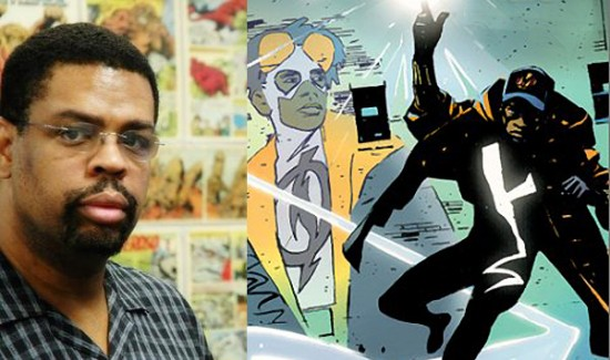 DWAYNE McDUFFIE (1962-2011) - A revered comic book writer and creator ( Static Shock,  Milestone Media) and television producer ( Justice League Unlimited ) adored for the stature of his character as well as his being.