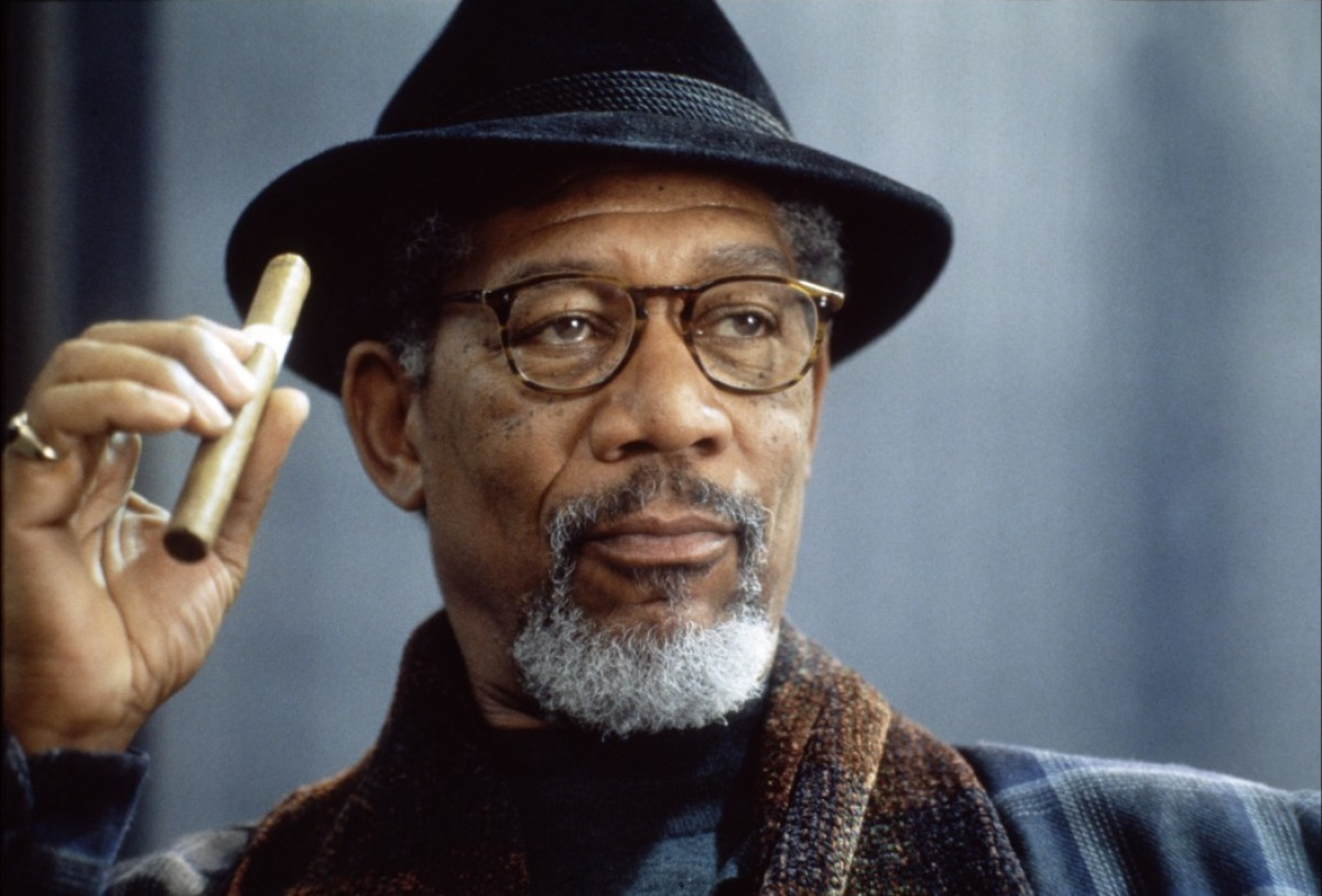 "MORGAN FREEMAN - An Academy Award-winning actor who made reading as cool as sports (""Easy Reader""  The Electric Company ) and who gave God his soul back ( Bruce Almighty )."