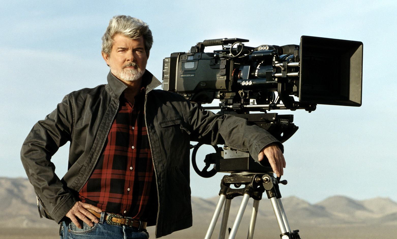 GEORGE LUCAS - The visionary writer / director who married groundbreaking spectacles with legendary pulp storytelling to reimagine the rousing sci-fi adventures of yesteryear for the 20th century in   Star Wars  . His before-its-time marketing acumen propelled the film series into the history books.